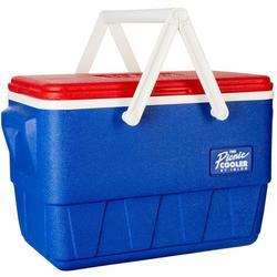 25 Qt. Retro Picnic Basket Cooler
