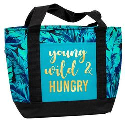 Young, Wild & Hungry Insulated Lunch Tote
