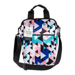 Geometric Triangle Medium Messenger Lunch Bag