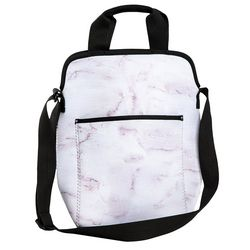 Marble Medium Messenger Lunch Bag