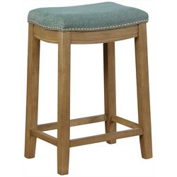 Linon Upholstered Counter Stool