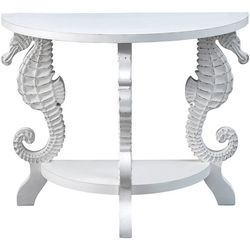 Coastal Home Seahorse Console Table