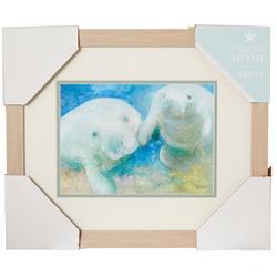 Manatee Framed Wall Art