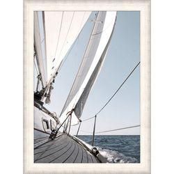Coastal Home Macro Sail Framed Wall Art