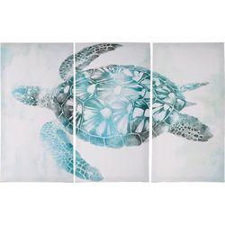 3-pc. Sea Turtle Canvas Art