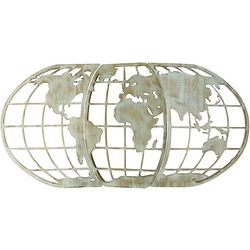JD Yeatts World Globe Wall Decor