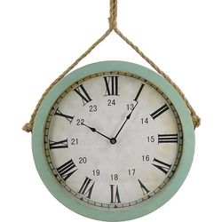 JD Yeatts Hanging Rope Wall Clock