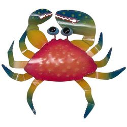 T.I. Design Red Crab Wall Art