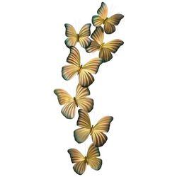 T.I. Design Butterflies Metal Wall Art