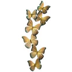 Butterflies Metal Wall Art
