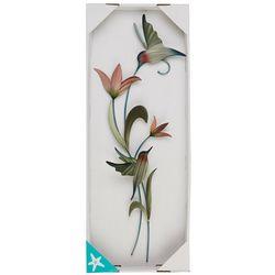 T.I. Design Hummingbirds Metal Wall Art