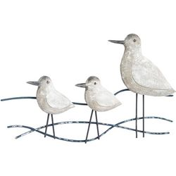 T.I. Design Shore Birds Wood Wall Art