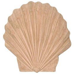 Scallop Shell Wooden Wall Art