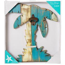T.I. Design Palm Tree Bottle Opener Wall Art