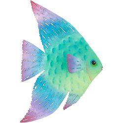 Right Angel Fish Metal Wall Decor