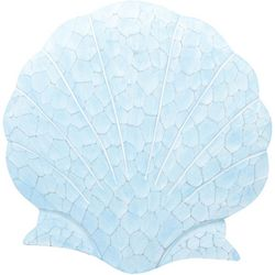 T.I. Design Scallop Shell Wood Wall Art