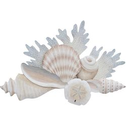 T.I. Design Shell & Reef Carved Wall Art
