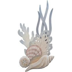 Shell & Reef Tulip Vertical Carved Wall Art