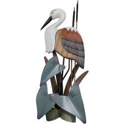 T.I. Design Heron Wooden Wall Art