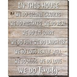In This House Wall Art