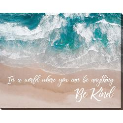 Be Kind Canvas Wall Art - 22x28