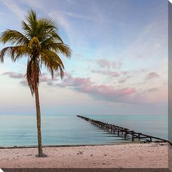 Isle Palm Tree Wall Art