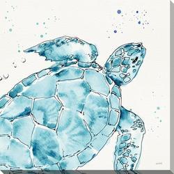 Deep Sea Canvas Wall Art - 30x30