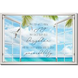 May Your Walls Know Joy Canvas Wall Art