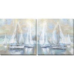 Streamline Art 2-pc. Sail Away Canvas Wall Art