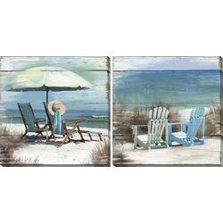Streamline Art 2-pc. Favorite Beach Canvas Wall Art