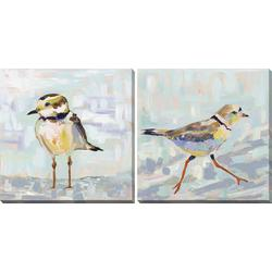 2-pc. Coastal Sandpiper Canvas Wall Art