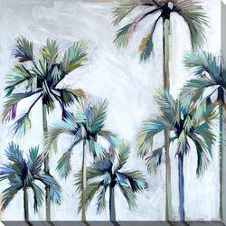 Streamline Art Palms Canvas Wall Art