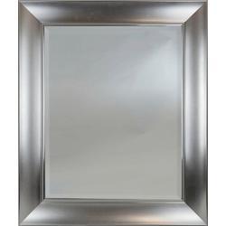 Silver Border Mirror