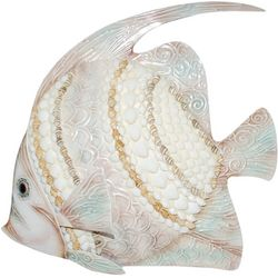 Coastal Home Natural Shell Fish Wall Decor