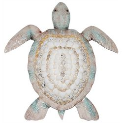 Coastal Home Natural Shell Turtle Wall Decor