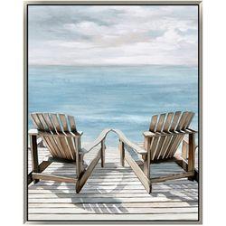 Patton Adirondack Chairs Canvas Wall Art