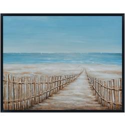 Coastal Sand Dune Canvas Wall Art