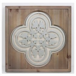 Patton Medallion Wooden Wall Art
