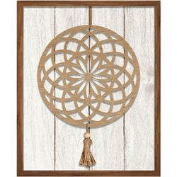 Patton Mandala Wooden Wall Art