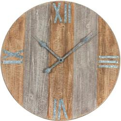 Wood Round Clock