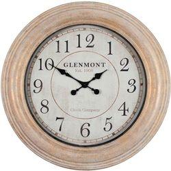 Patton 24'' Distressed Round Clock