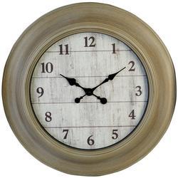 Wire 24'' Clock