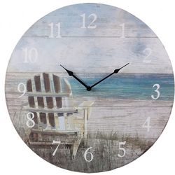 Young's Beach Chair Wall Clock