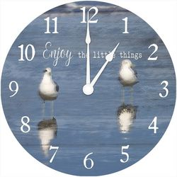 Young's Enjoy The Little Things Wall Clock