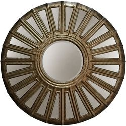 StyleCraft Antique Silver Metal Wall Mirror
