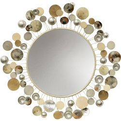 StyleCraft Metal Orb Wall Mirror