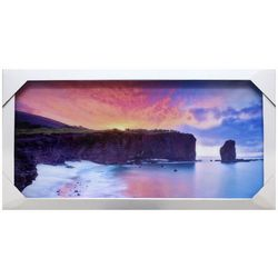 StyleCraft Coastal Sunset Framed Wall Art