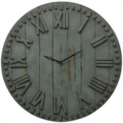 Stylecraft 24'' Wood Wall Clock