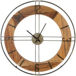20'' Rustic Wooden Clock