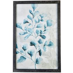 Foliage Watercolor Print Framed Wall Art